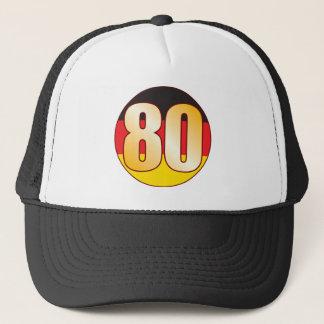 80 GERMANY Gold Trucker Hat