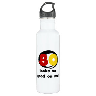 80 Looks So Good On Me T-shirts and 710 Ml Water Bottle