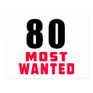 80 Most Wanted Funny Birthday Design Post Card