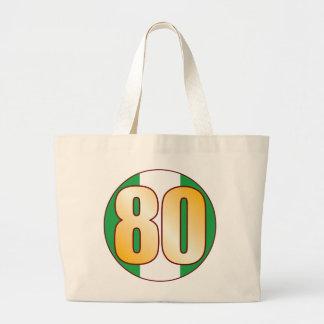 80 NIGERIA Gold Jumbo Tote Bag