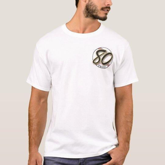 80 Proof Errors Softball Jersey T-Shirt