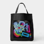 80 Retro Party Tote Bag