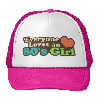 80 s Girl Mesh Hat