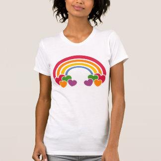 80 s Rainbow n Hearts T-Shirt