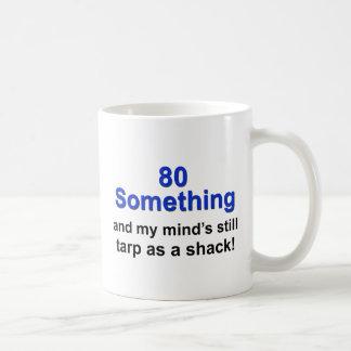 80 Something... Basic White Mug
