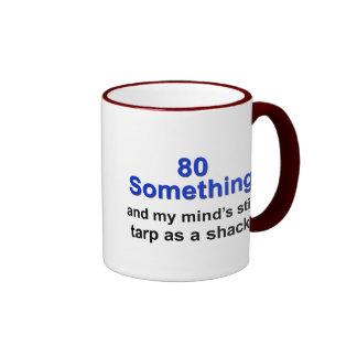 80 Something... Ringer Mug