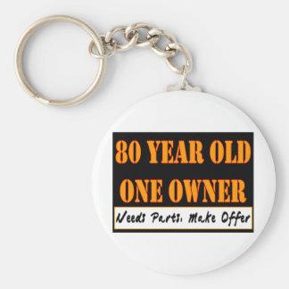 80 Year Old, One Owner - Needs Parts, Make Offer Basic Round Button Key Ring