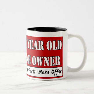 80 Year Old, One Owner - Needs Parts, Make Offer Two-Tone Mug