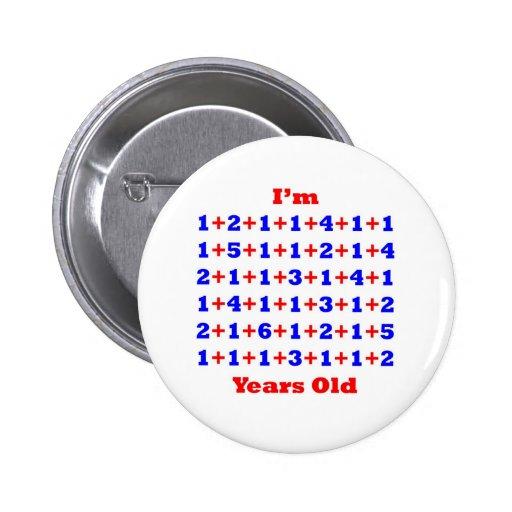 80 Years old! 6 Cm Round Badge