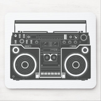 80s Boombox Mouse Mat