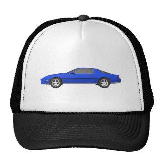 80's Camaro Sports Car: 3D Model: Cap