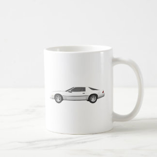 80's Camaro Sports Car: 3D Model: Coffee Mug