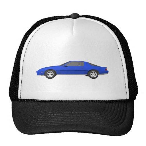 80's Camaro Sports Car: 3D Model: Mesh Hats