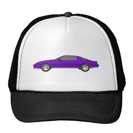 80's Camaro Sports Car: 3D Model: Mesh Hat