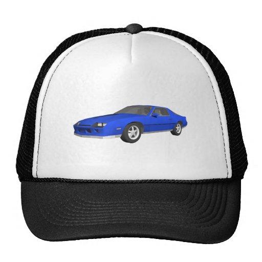 80's Camaro Sports Car: 3D Model: Trucker Hats