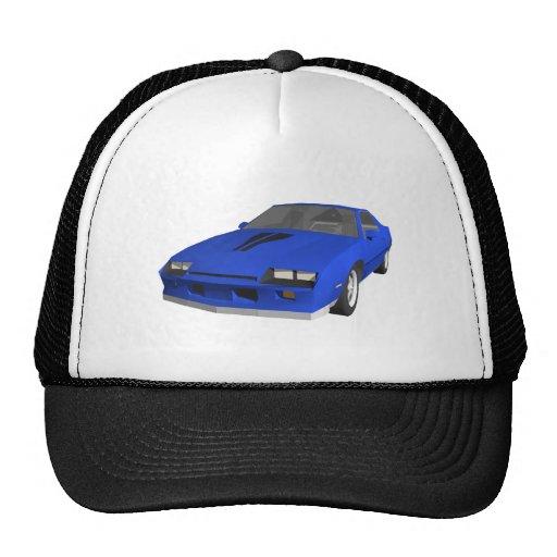 80's Camaro Sports Car: 3D Model: Hats