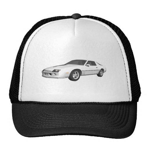 80's Camaro Sports Car: 3D Model: Hat