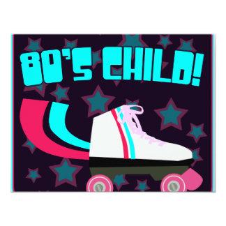 80's Child Personalized Invitations