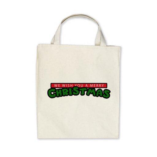 80s Christmas Bag