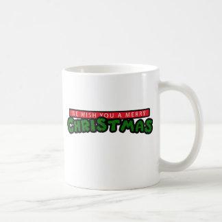 80s Christmas Mugs
