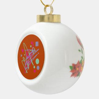 80s design eighties vintage splash medley art ceramic ball decoration