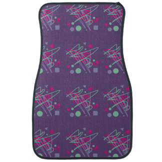 80s eighties car mat vintage colors art girl