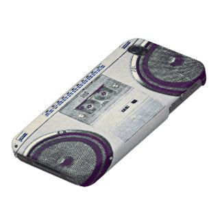 80's ghetto blaster iPhone 4/4S cases