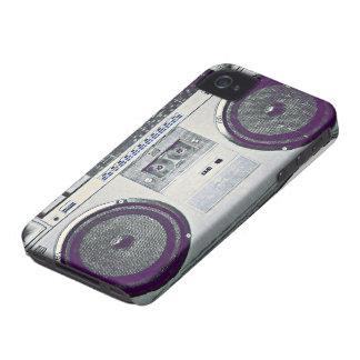 80's ghetto blaster iPhone 4 cover