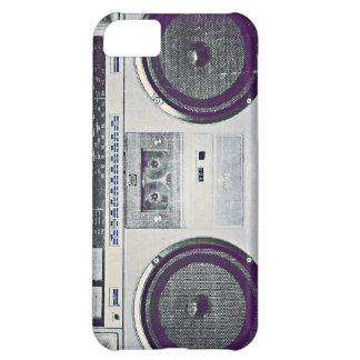 80's ghetto blaster iPhone 5C case