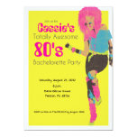 80's Glam 13 Cm X 18 Cm Invitation Card