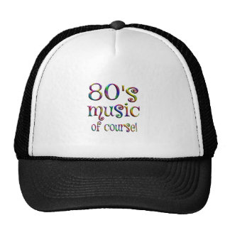 80s Music of Couse Cap