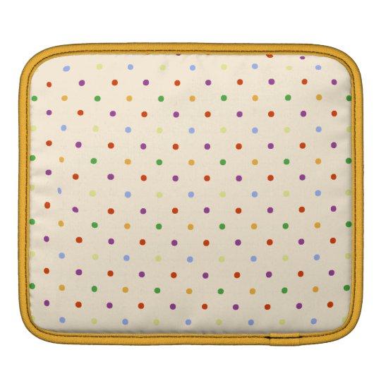 80s petite rainbow girly cute polka dots pattern