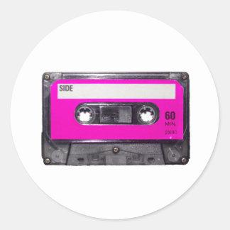 80's Pink Label Cassette
