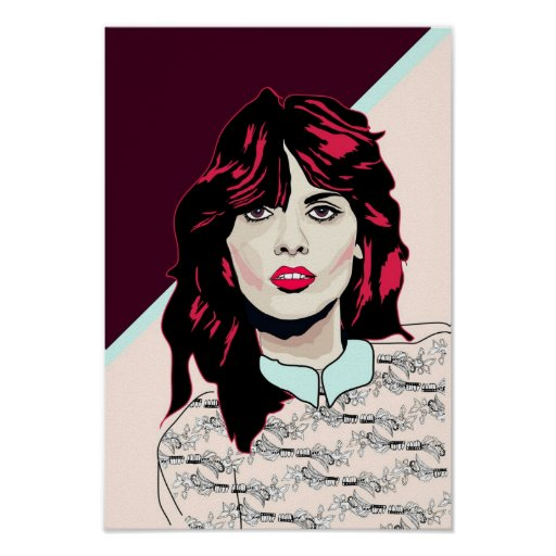 '80s Pink' Poster Print