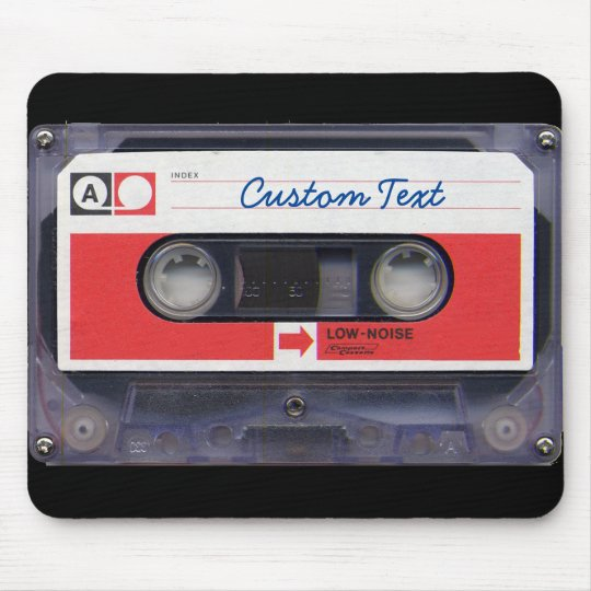 80s Pop Culture Personalised Cassette Tape Mouse Mat