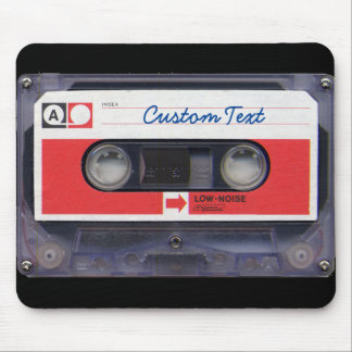 80s Pop Culture Personalized Cassette Tape Mouse Mat