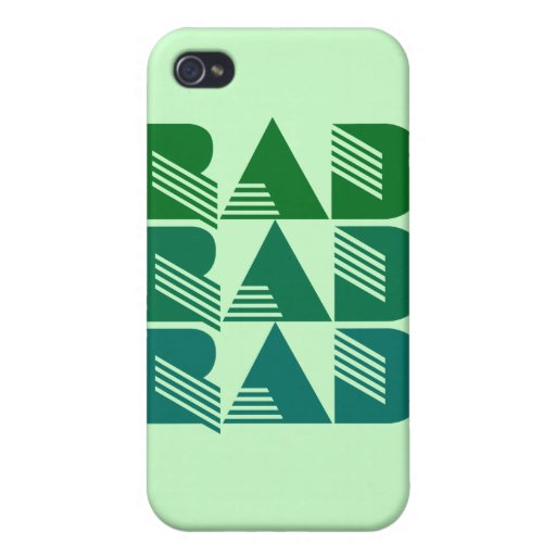 80s RAD Cover For iPhone 4