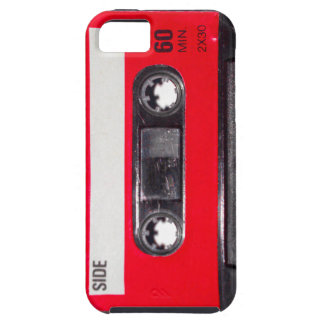 80's Red Label Cassette iPhone 5 Case