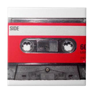 80's Red Label Cassette Tile