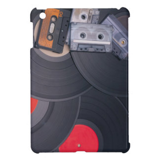 80's Retro Cassette Tapes and Vinyl Records Case For The iPad Mini