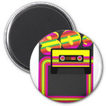 80s Retro Party Magnets