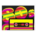 80s Retro Party Postcard