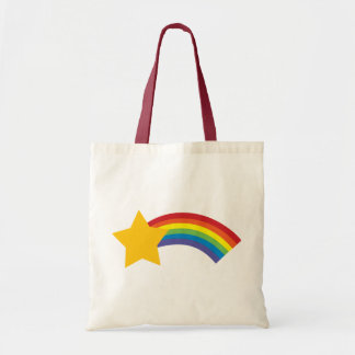 80's Retro Pop Rainbow Shooting Star Bag