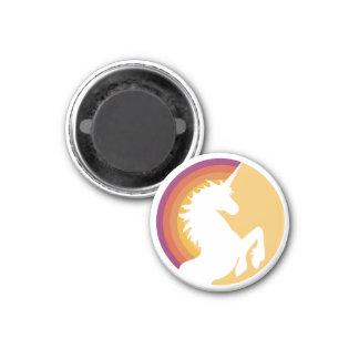 80's Retro Rainbow and Unicorn Magnet