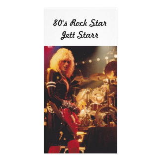 80's Rock StarJett Starr Photo Cards