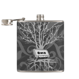 80s Roots Hip Flask