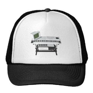 80's Style Sampler Keyboard: 3D Model: Cap