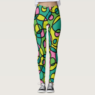 80's Throwback Retro Leggings