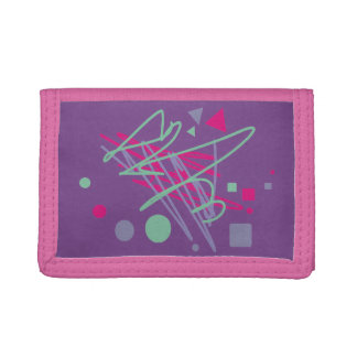 80s wallet eighties vintage splash medley art
