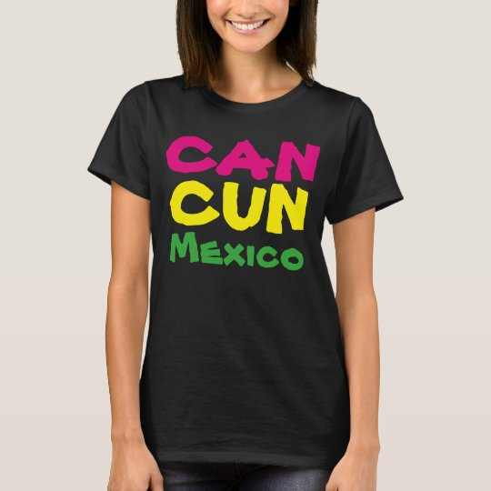 80'S Women's Cancun Mexico Vacation Travel T shirt